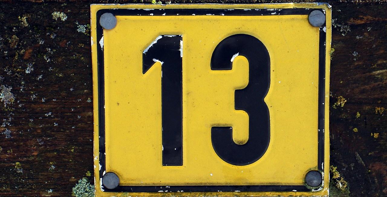 Dossier le chiffre 13 ou la triskaid kaphobie et autres for Le chiffre 13