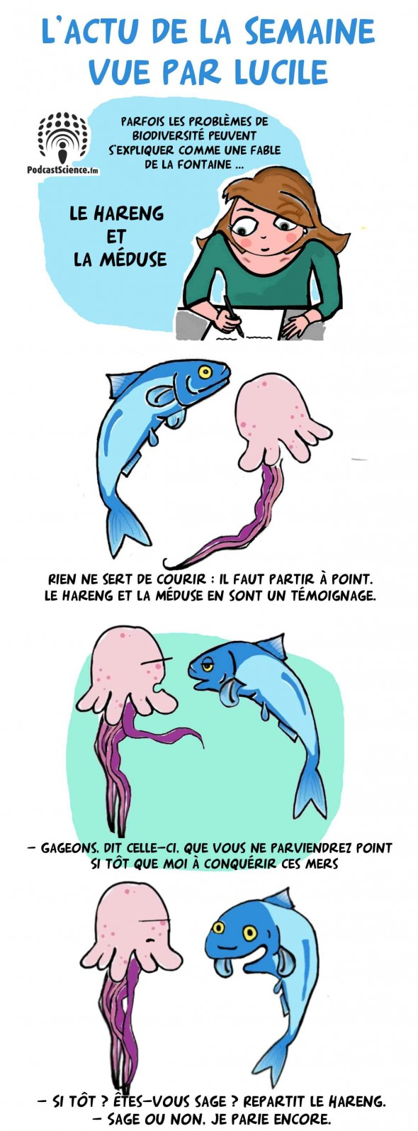 Le hareng et la méduse 1