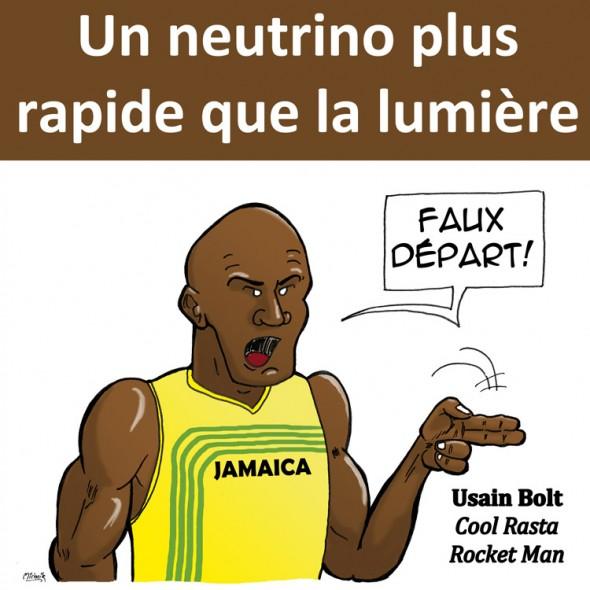 Strip science neutrinos plus rapides que la lumi re l - Plus rapide que la lumiere ...