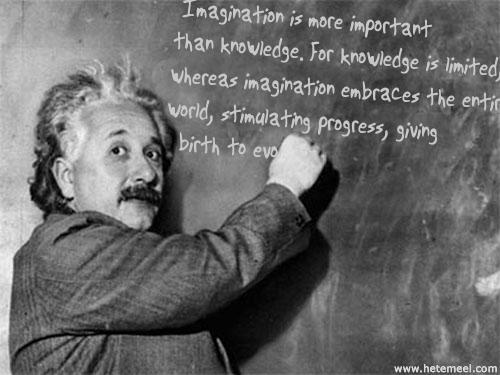 Une vraie quote d'Einstein