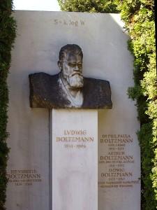 La tombe de Boltzmann (Wikipédia)