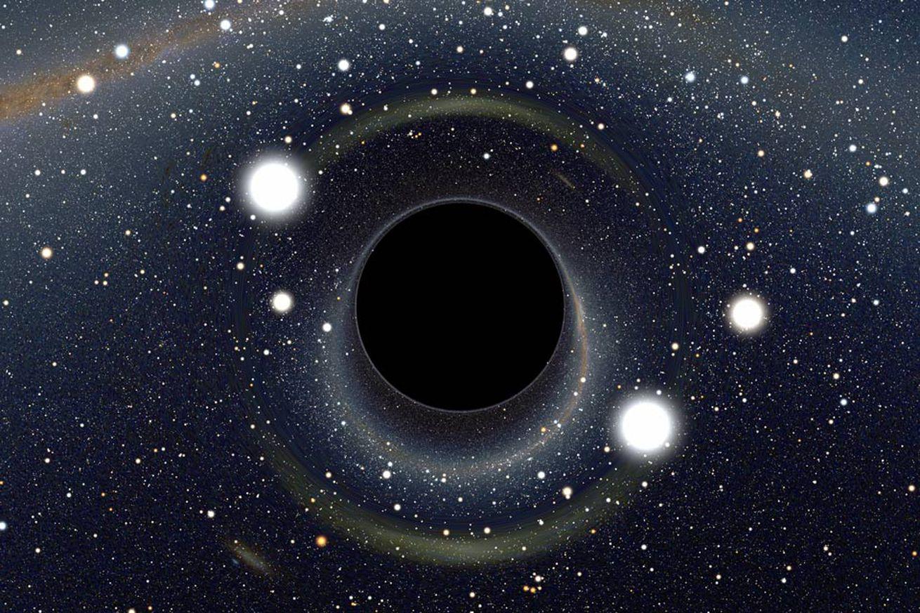 Le trou noir supermassif au centre de la galaxie  Bhlens_riazuelo_960.0.0