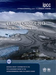 Changements Climatiques 2013 Les éléments scientifiques Contribution du Groupe de travail I au cinquième Rapport d'évaluation du GIEC