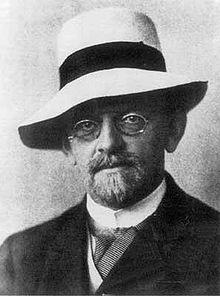 David Hilbert en 1912