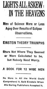 New York Times, 10 novembre 1919