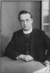 Georges Lemaître, Prix Francqui 1934, Source : UCL