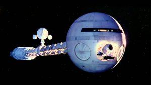 Discovery, vaisseau spatial dans 2001 l'Odyssée de l'espace.